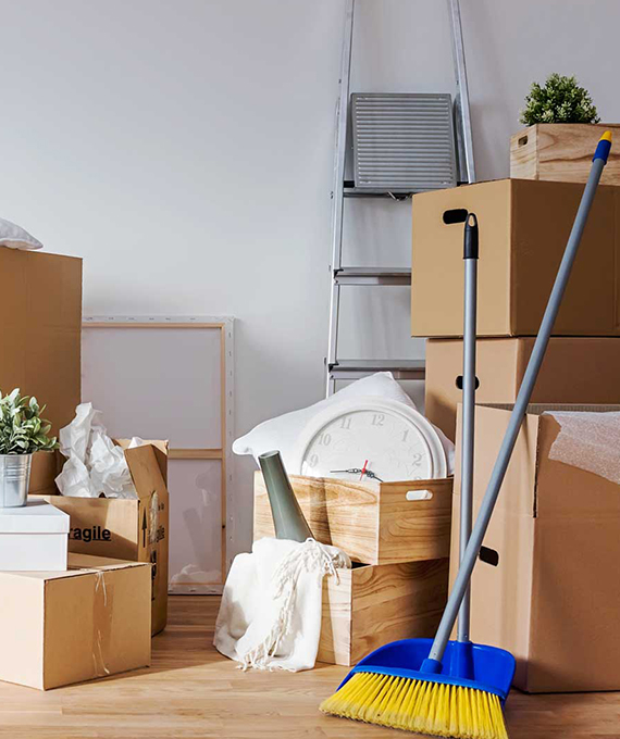 move out in cleaning