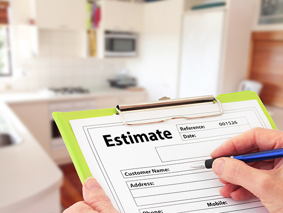 estimate cleaning